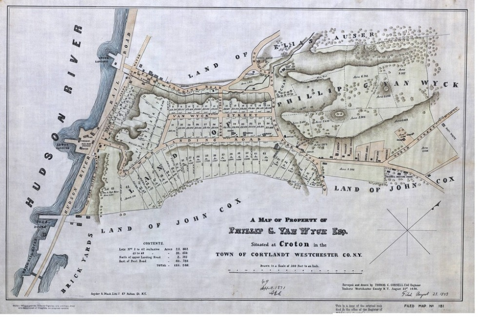 Van_wyck_estate_map_1850