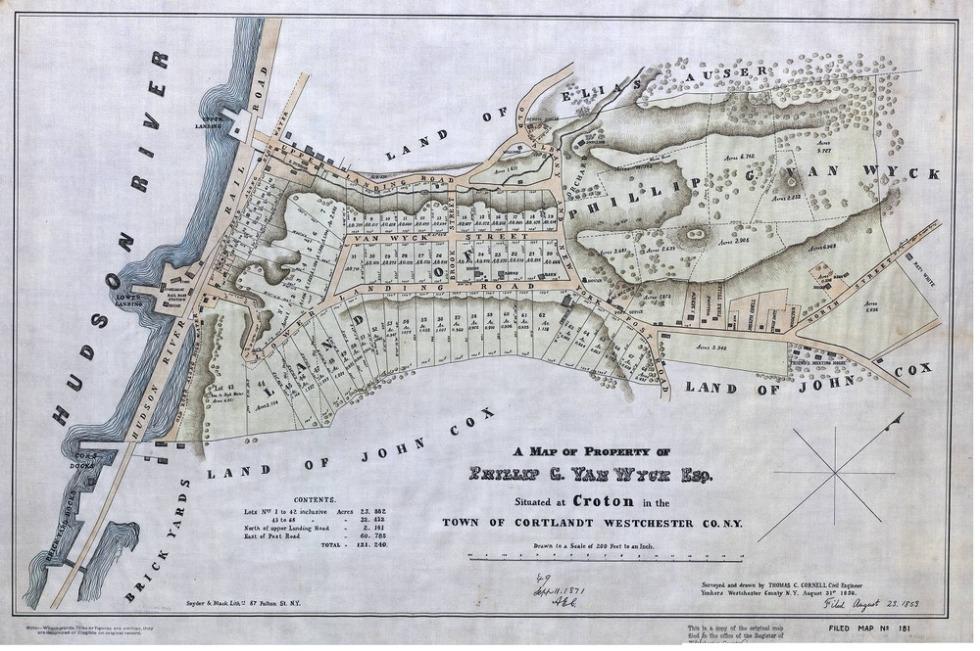 Van_wyck_estate_map_1850