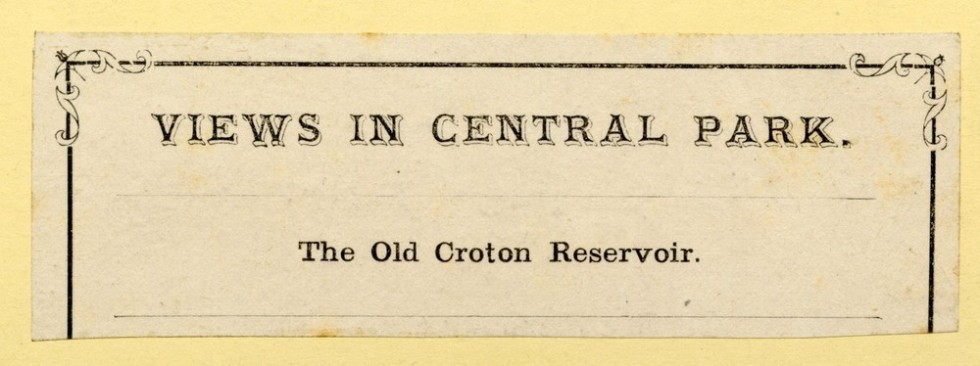 Croton-reservoir-ebay-label