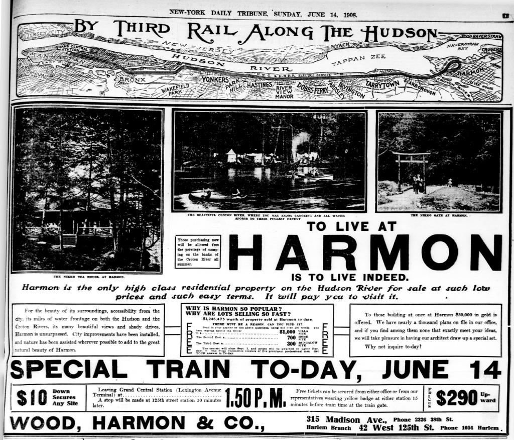 Harmon ad 6-14-1908