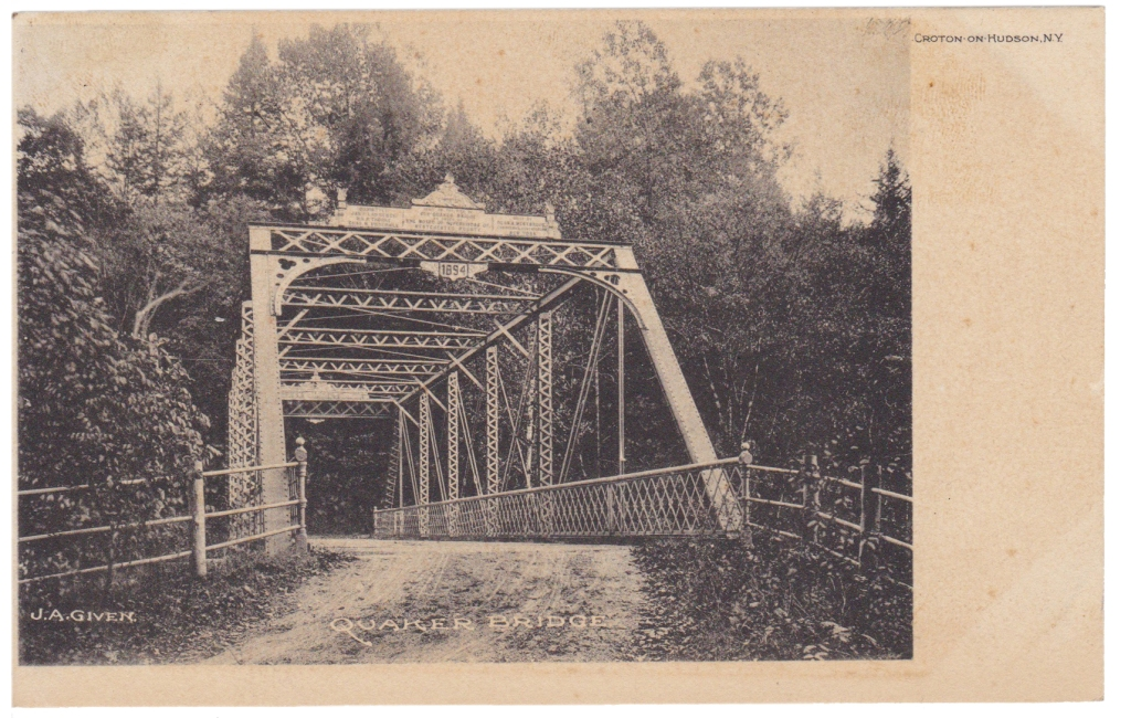 Quaker Bridge postcard