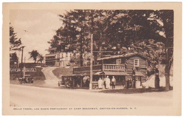 Log Cabin Post Card