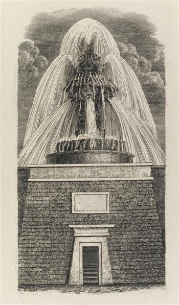 Croton Fountain, circa 1850.  Courtesy of the Museum of the City of New York.