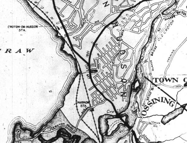Census Map 1935 Harmon Detail