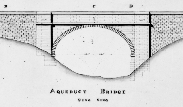 Construction drawing, probably by Chief Engineer John B. Jervis, circa 1837