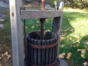 Another type of antique cider press.