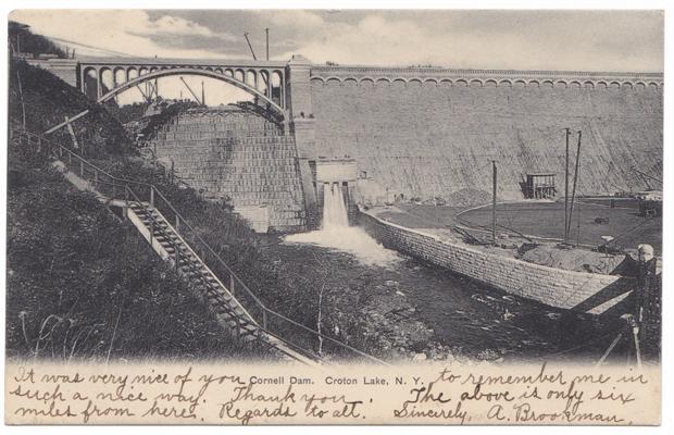 "Postcard published by William Terhune, ""Ossining on Hudson,"" N.Y., circa 1906."