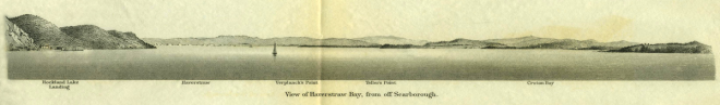 View of Haverstraw Bay, from off Scarborough. Published by the United States Coast Survey, Washington, D.C., 1868