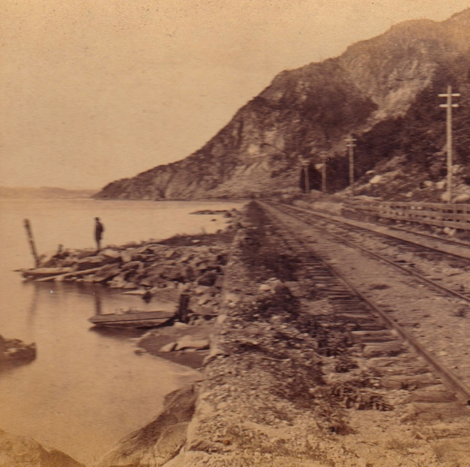 Breakneck from the South. From the stereoview published by E. & H. T. Anthony & Co.