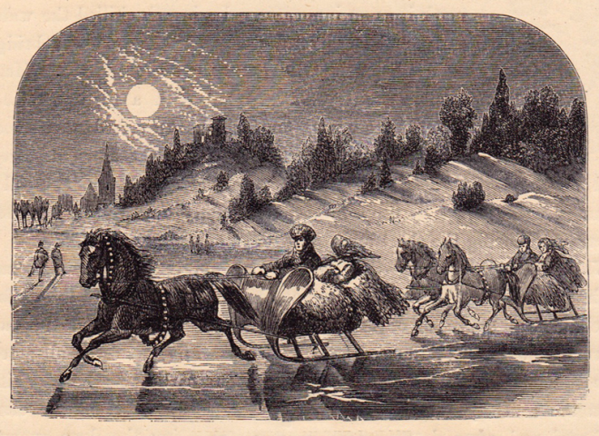 Sleigh Riding on the Hudson