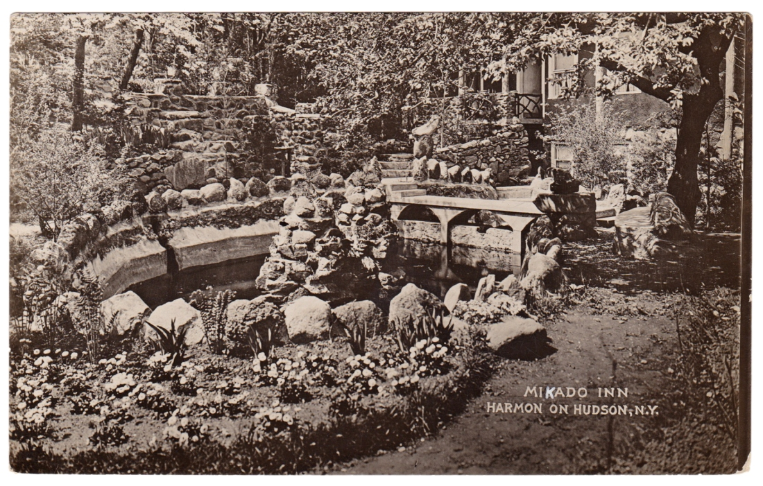 Mikado Inn, Harmon-on-Hudson, N.Y. [No publisher, but likely the Mikado Inn]. Circa 1920.
