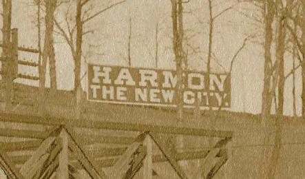 Harmon Sign Detail