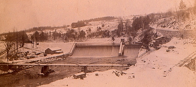 The Old Croton Dam after reconstruction.