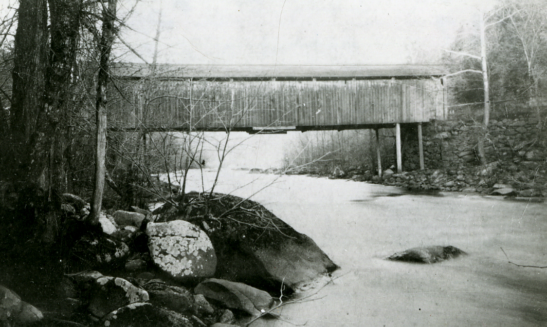 Quaker Bridge, circa 1847-1894. Courtesy of the Westchester County Historical Society.