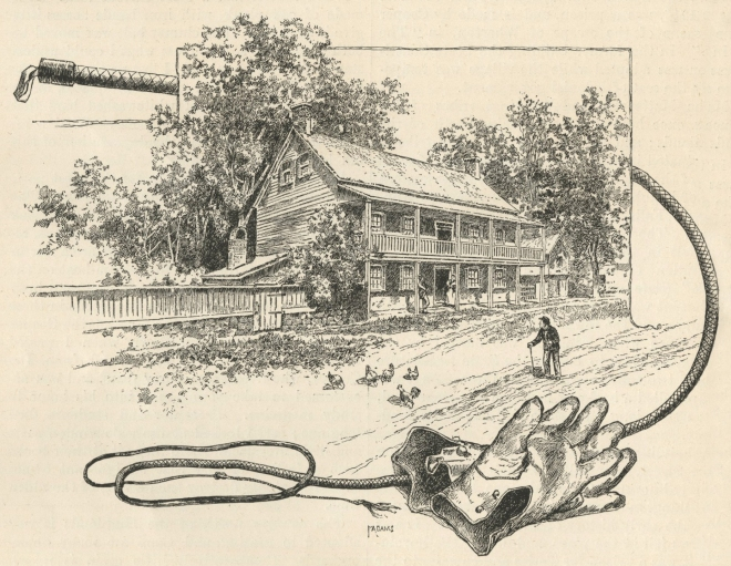 The Old Post Road Inn in 1890.