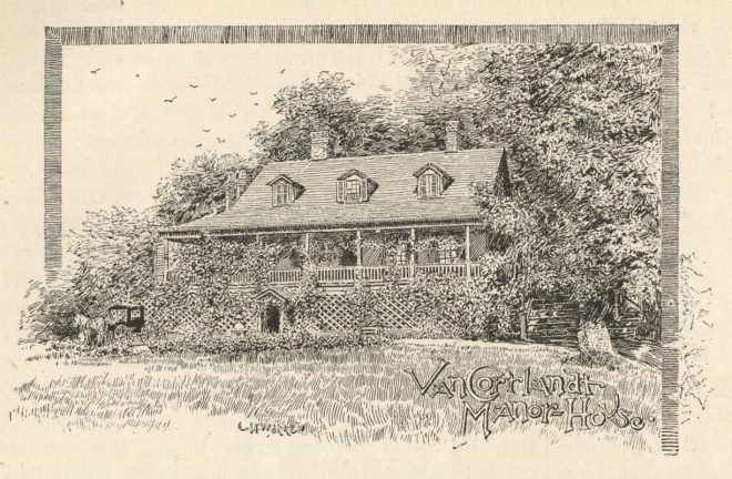 Van Cortlandt Manor in 1890.
