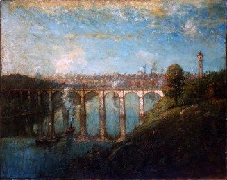 High Bridge, New York by Henry Ward Ranger, 1905.