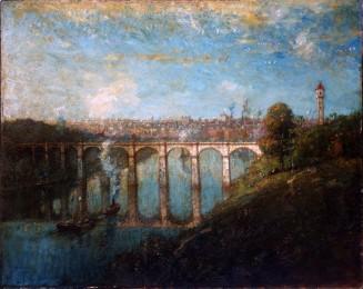 High Bridge, New York by Henry Ward Ranger, 1905.