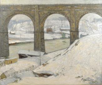 High Bridge in Winter by Hayley Lever, circa 1913.