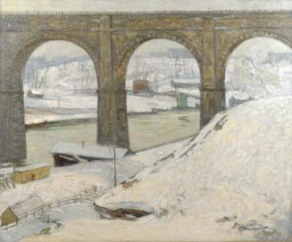 High Bridge in Winter by Hayley Lever, circa 1913.