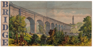 High Bridge puzzle, published by E. G. Selchow & Co., circa 1867-1880.