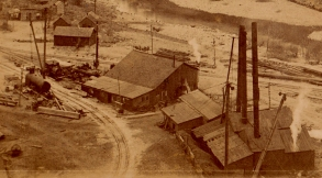 Detail showing another view of the machine shops