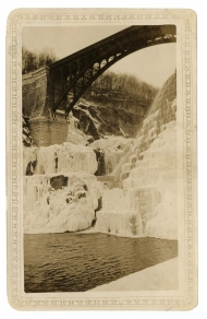 Ice on the spillway of the New Croton Dam, February, 1934. Click the image to enlarge it.