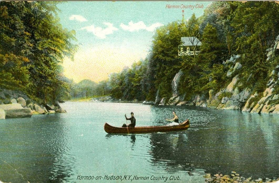 Postcard, circa 1918, when the Nikko Inn was known as the Harmon Country Club.
