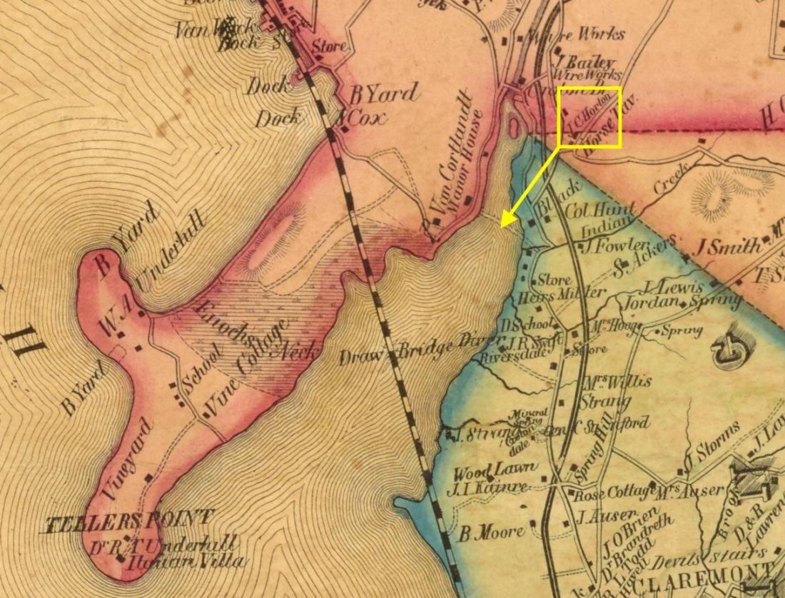 Horton_1851 Sidney & Neff Map