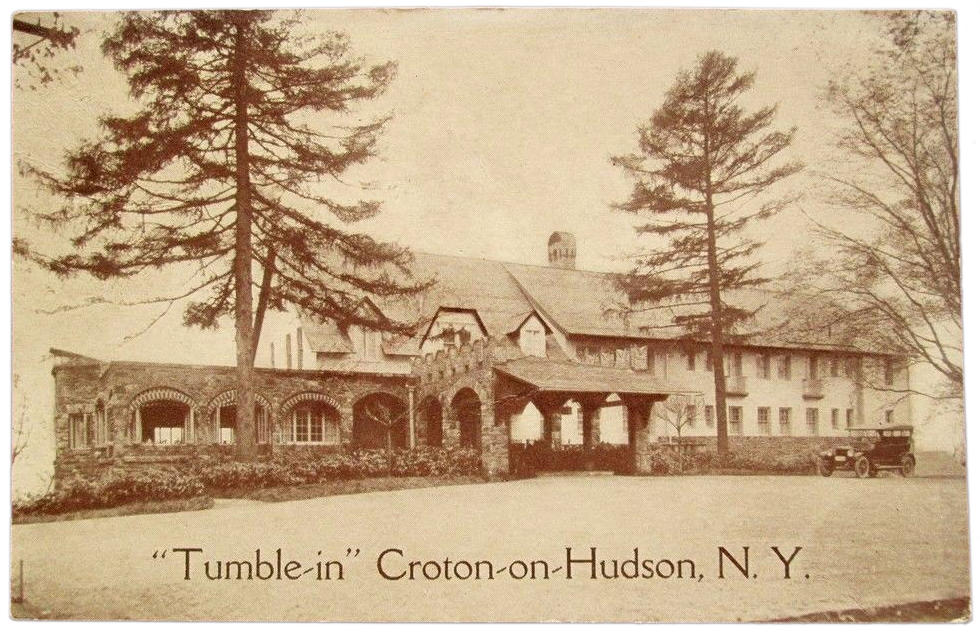 Tumble Inn Postcard