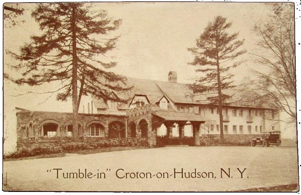 Tumble Inn Postcard